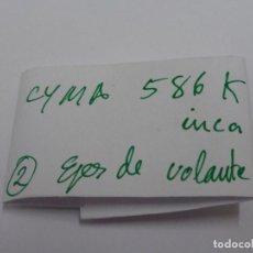 Recambios de relojes: CYMA 586K INCA, EJES DE VOLANTE.. Lote 118590791