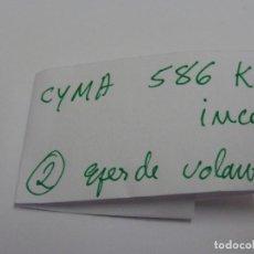Recambios de relojes: CYMA 586K, EJES DE VOLANTE.. Lote 118590815