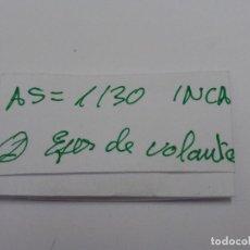 Recambios de relojes: AS 1130 INCA EJE DE VOLANTE.. Lote 118590967