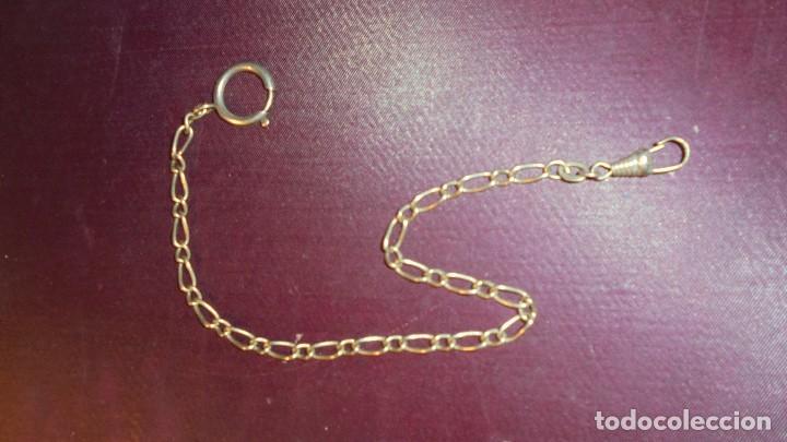6175388356d4 antigua cadena de plata para reloj de bolsillo - Comprar Recambios ...