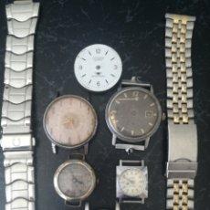 Recambios de relojes: LOTE. Lote 119000359
