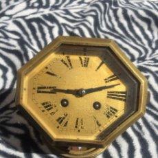 Recambios de relojes: ANTIGUA MAQUINARIA PARIS JAPY RELOJ SOBREMESA-LOTE 96- FUNCIONA-VALIDO PARA CUALQUIER MAQUINA PARIS. Lote 119263943