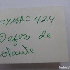 Recambios de relojes: CYMA 424, EJES DE VOLANTE.. Lote 119634079
