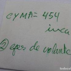 Recambios de relojes: CYMA 454, EJES DE VOLANTE.. Lote 119634271