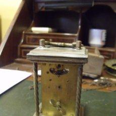 Recambios de relojes: UN DESPERTADOR INGLES VICTORIANO DE CARRUAJE- AÑO 1890- LOTE 99. Lote 119930199