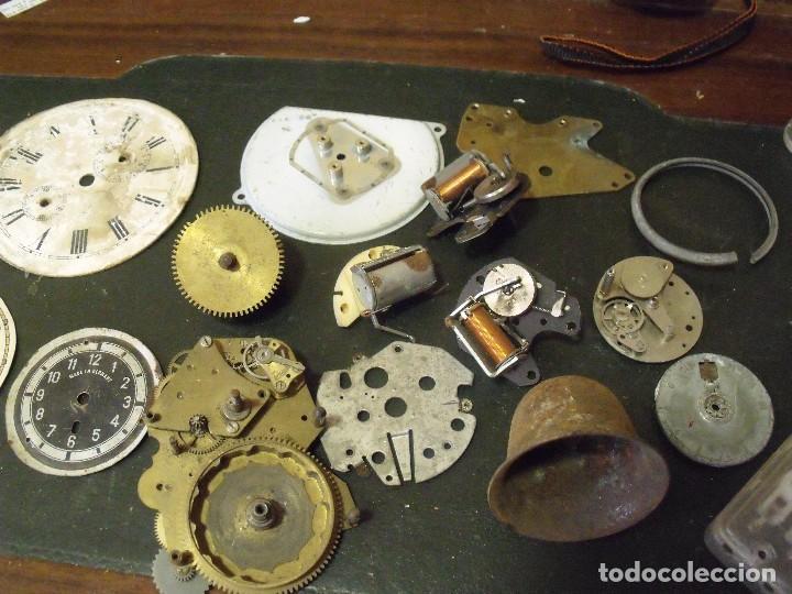 Recambios de relojes: GRAN LOTE - piezas antiguas para relojes antiguos- lote 100 - Foto 6 - 119960691