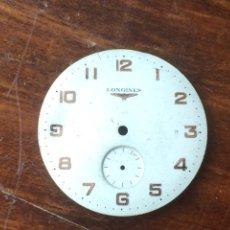 Recambios de relojes: ESFERA VINTAGE RELOJ HOMBRE LONGINES. Lote 120466534