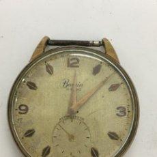 Recambios de relojes: RELOJ BASSIN 15 RUBIS CARGA MANUAL. Lote 121423551
