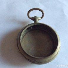Recambios de relojes: CAJA DE RELOJ DE BOLSILLO ROSKOPF CUERVO Y SOBRINOS HABANA DIAM. 54 MM . Lote 121550707