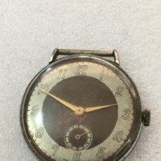 Recambios de relojes: MÁQUINA RELOJ VINTAGE MILITAR CARGA MANUAL. Lote 121606871