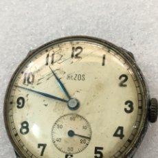 Recambios de relojes: MÁQUINA RELOJ VINTAGE CARGA MANUAL MILITAR. Lote 121607166