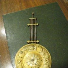 Recambios de relojes: ANTIGUO PENDULO PARA RELOJ ALFONSINO GUSTAV BECKER LOTE 107. Lote 121664271