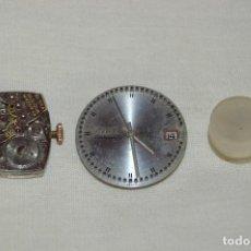 Recambios de relojes: VINTAGE - LOTE DE DOS MAQUINARIAS BULOVA - USA - MIRA LAS FOTOS PARA MÁS DETALLE. Lote 121716091