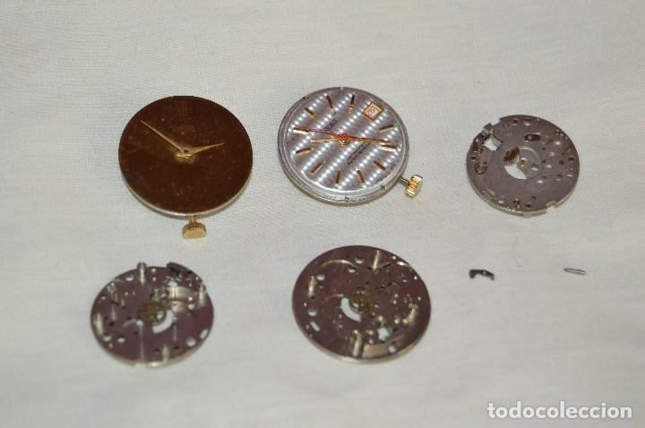 Recambios de relojes: Vintage - LOTE DESPIECE / MAQUINARIAS - SEIKO / PONTINA - MIRA LAS FOTOS PARA MÁS DETALLES - Foto 2 - 121717215