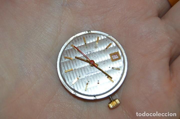 Recambios de relojes: Vintage - LOTE DESPIECE / MAQUINARIAS - SEIKO / PONTINA - MIRA LAS FOTOS PARA MÁS DETALLES - Foto 7 - 121717215