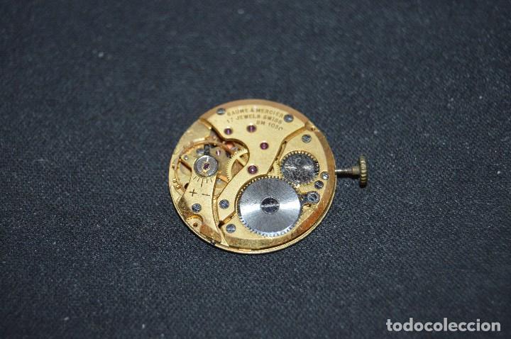 VINTAGE - ANTIGUA MAQUINARIA BAUME & MERCIER BM 1050 - SWISS MADE - HAZME UNA OFERTA (Relojes - Recambios)