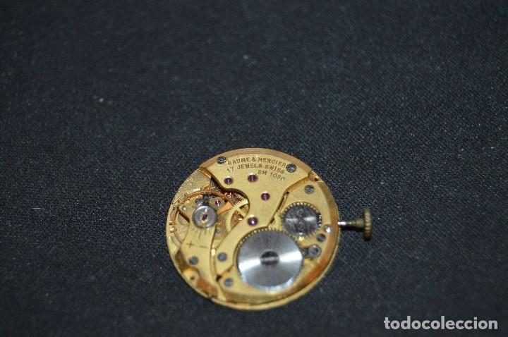 Recambios de relojes: Vintage - ANTIGUA MAQUINARIA BAUME & MERCIER BM 1050 - SWISS MADE - HAZME UNA OFERTA - Foto 2 - 121719175