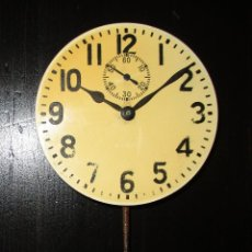 Recambios de relojes: MAQUINARIA DE RELOJ ELGIN 8 DAYS DE TABLERO DE AUTO CLÁSICO. ORIGINAL DE 1925.. Lote 121914311