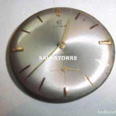 Recambios de relojes: RELOJ CYMA. CYMAFLEX. SWISS MADE. SUIZO. Lote 121936627