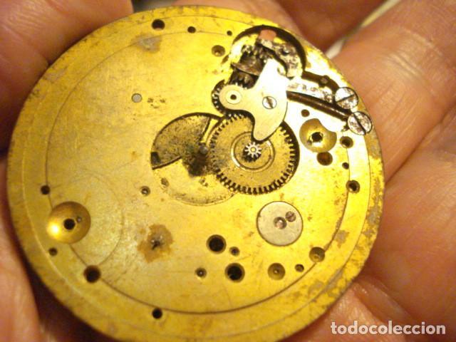 Recambios de relojes: MAQUINA DE RELOJ DE BOLSILLO - SIGLO-XX - SIN MARCA - PARA PIEZAS - TENGO MAS EN VENTA - Foto 2 - 122833359