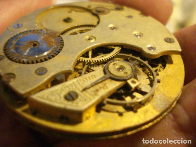 Recambios de relojes: MAQUINA DE RELOJ DE BOLSILLO - SIGLO-XX - SIN MARCA - PARA PIEZAS - TENGO MAS EN VENTA - Foto 3 - 122833359
