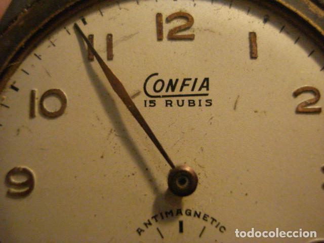 Recambios de relojes: RELOJ DE PULSERA MARCA CONFIA PARA REPARAR O PIEZAS - TENGO MAS EN VENTA - Foto 2 - 122833475