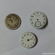 Recambios de relojes: ESFERAS PARA RELOJ. Lote 122908187