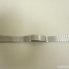 Recambios de relojes: 918- RECAMBIO CORREA DE RELOJ CASINO STAINLESS STEEL NEW 29. Lote 123324671
