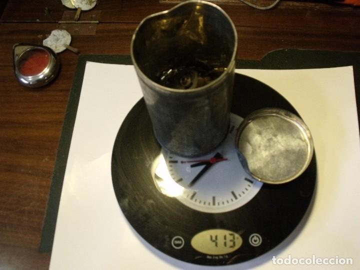 Recambios de relojes: restos de relojeria 1 LOTE MEDIO KG PIEZAS - lote 118 - Foto 4 - 123652815