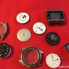Recambios de relojes: LOTE RECAMBIOS RELOJES. Lote 123837115