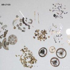 Recambios de relojes: AB- LOTE FORNITURAS DE RELOJES VARIOS CALIBRES.. Lote 125132567