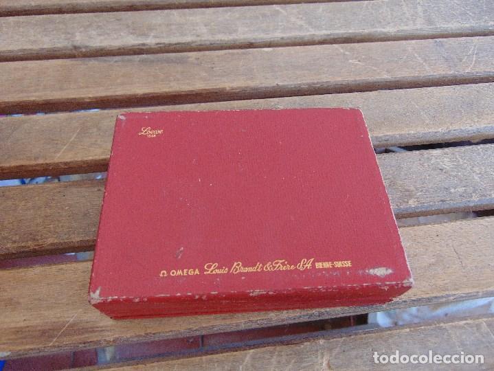Recambios de relojes: CAJA DEL RELOJ OMEGA LOEWE 1948 LOUIS BRANDT BIENNE SUISSE ROCES - Foto 7 - 125425055
