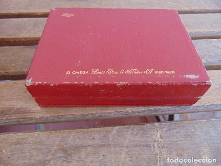 Recambios de relojes: CAJA DEL RELOJ OMEGA LOEWE 1948 LOUIS BRANDT BIENNE SUISSE ROCES - Foto 8 - 125425055
