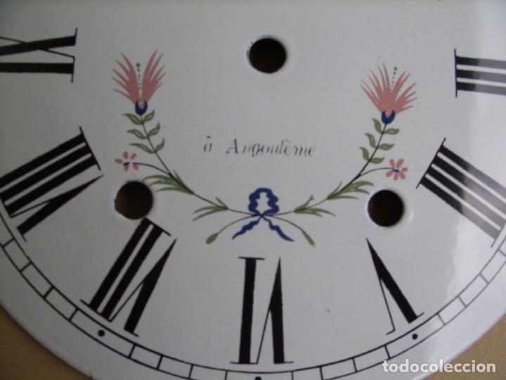 Recambios de relojes: Esfera de porcelana para reloj MOREZ DE PESAS- LOTE 4 - Foto 2 - 126452591