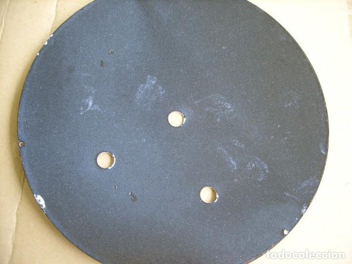 Recambios de relojes: Esfera de porcelana para reloj MOREZ DE PESAS- LOTE 4 - Foto 3 - 126452591
