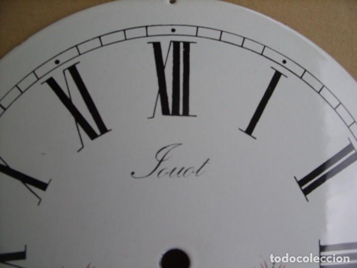 Recambios de relojes: Esfera de porcelana para reloj MOREZ DE PESAS- LOTE 4 - Foto 4 - 126452591