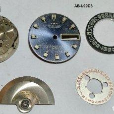 Recambios de relojes - PIEZAS DE UN RELOJ AUTOMATICO TECHNOS CALIBRE AS 1920. - 127250631