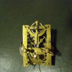 Ersatzteile für Uhren - maquinaria antigua de despertador- año 1900- lote 123 - 127794247