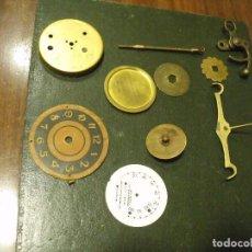 Recambios de relojes: 11 PIEZAS PARA RELOJES ANTIGUOS - LOTE 123. Lote 127794319