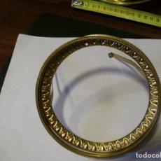 Recambios de relojes: PUERTA DELANTERA DOBLE PARA MAQUINARIA PARIS DE SOBREMESA - LOTE 115. Lote 128106163