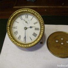 Recambios de relojes: MAQUINARIA DESPERTADOR VOLANTE ART-NOUVEAU BREVETE REVEIL PERFECTIONNE-LOTE 120. Lote 128372447