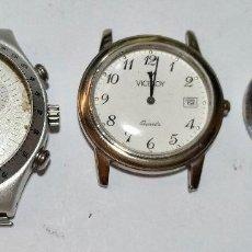 Recambios de relojes: SWATCH & VICEROY , MEDIDAS DE HOMBRE , NO FUNCIONAN .. Lote 128457483