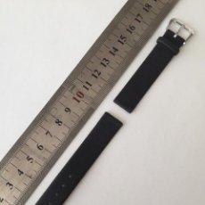 Recambios de relojes: COOREA PARA RELOJ 14 MM, VINTAGE, NUEVA FABRICADA EN ESPAÑA. PIEL.. Lote 128484455