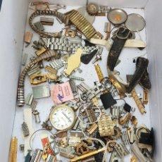Recambios de relojes: GRAN LOTE PIEZAS DE RELOJES. Lote 129027894