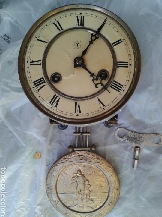 ANTIGUA MAQUINA DE RELOJ (Relojes - Recambios)