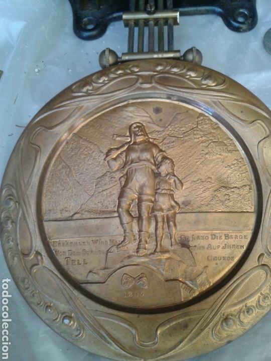 Recambios de relojes: ANTIGUA MAQUINA DE RELOJ - Foto 3 - 137312681