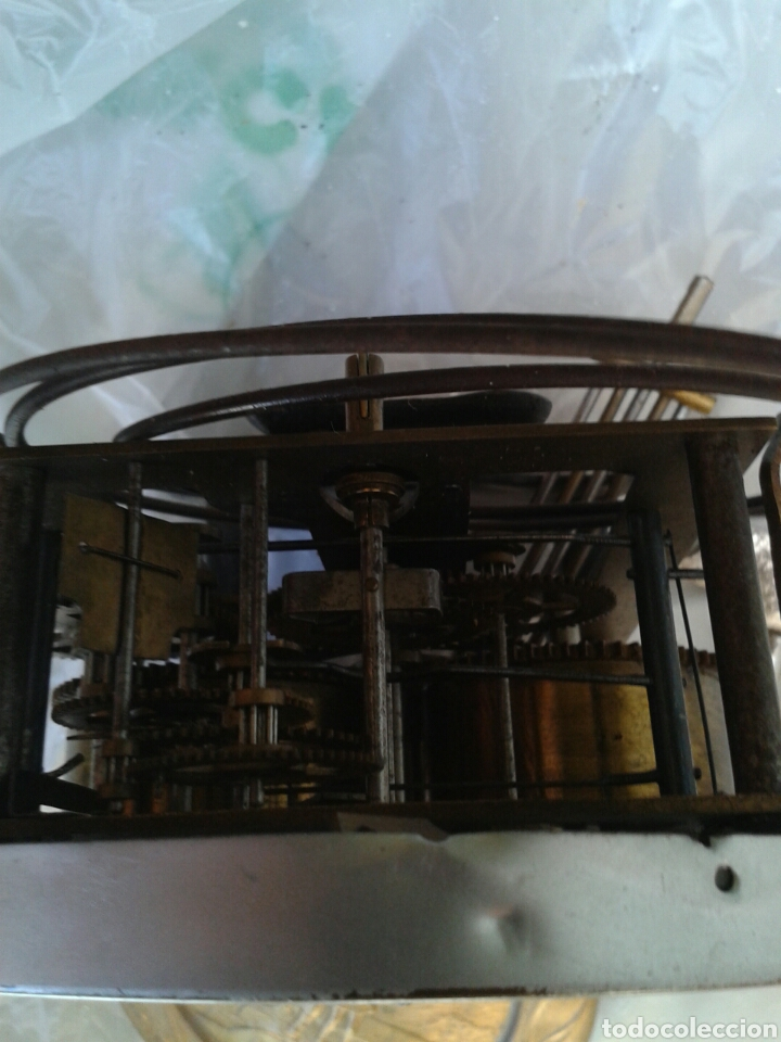Recambios de relojes: ANTIGUA MAQUINA DE RELOJ - Foto 6 - 137312681