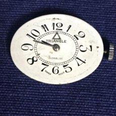Recambios de relojes: MAQUINARIA RELOJ PULSERA SEÑORA AÑOS 50 60 MARCA TRIANGLE SWISS MADE 17 JEWELS AUREOLE SWATCH CO 2,5. Lote 129487487