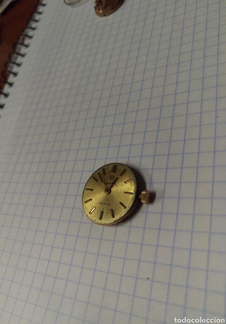 Recambios de relojes: Maquina reloj OMEGA Geneve vintage - Foto 2 - 129647655