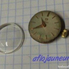 Recambios de relojes: MAQUINA RELOJ OMEGA WATCH CALIBRE 213 VINTAGE FUNCIONANDO. Lote 129648367